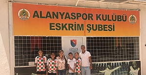 Eskrimciler Trabzon'da