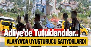 Alanya'da Yakalanan İki Zehir Taciri Tutuklandı