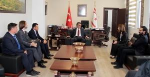 Adem Başkan, Kıbrıs'a Gitti
