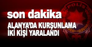 Alanya Atatürk Caddesinde Kurşunlama