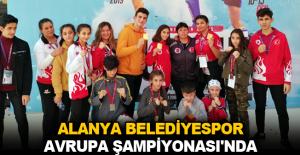 Alanya Belediyespor Avrupa Şampiyonası'nda kürsüyü kapattı