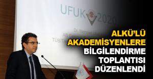 ALKÜ'lü Akademisyenlere bilgilendirme toplantısı düzenlendi