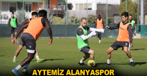 Aytemiz Alanyaspor, Konyaspor maçına hazır