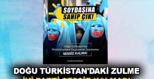 Doğu Türkistan'daki zulme İyi Parti sessiz kalmadı
