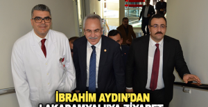 İbrahim Aydın'dan Lakadamyalı'ya ziyaret