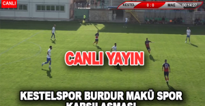 Kestelspor - Burdur Makü Spor Karşılaşması Canlı Yayın