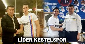 Lider Kestelspor 2 oyuncuyla anlaştı