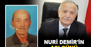 Nuri Demir'in acı günü