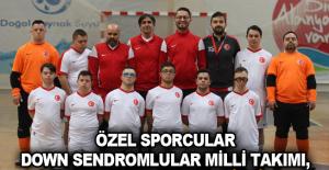 Özel Sporcular Down Sendromlular Milli Takımı, Alanya'da kampa girdi