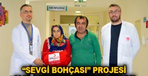"""""""Sevgi Bohçası"""" Projesi ALKÜ AEAH'nde hayat buldu"""