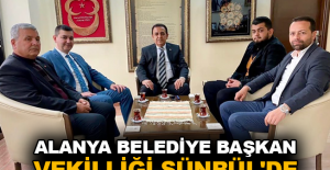Alanya Belediye Başkan Vekilliği Sünbül'de