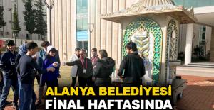 Alanya Belediyesi final haftasında öğrencileri unutmadı