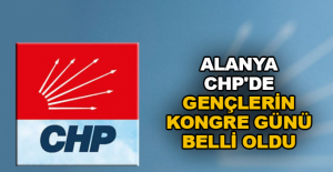 Alanya CHP'de gençlerin kongre günü belli oldu