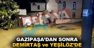 Gazipaşa'dan sonra Demirtaş ve Yeşilöz'de sular altında