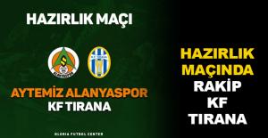 Hazırlık maçında rakip KF Tirana