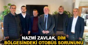 Zavlak'tan UKOME Daire Başkanı Nurettin Tonguç'a ziyaret