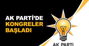 AK Parti'de kongreler başladı