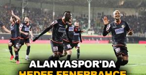 Alanyaspor'da hedef Fenerbahçe