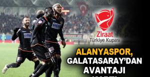 Alanyaspor, Galatasaray'dan avantajı kaptı