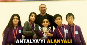 Antalya'yı Alanyalı öğrenciler temsil edecek