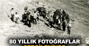 80 yıllık fotoğraflar sergileniyor