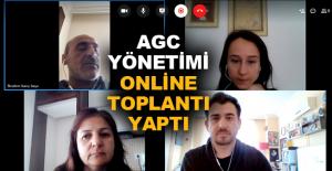 AGC Yönetimi online toplantı yaptı