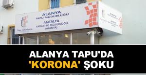 Alanya Tapu'da 'Korona' şoku