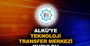 ALKÜ'ye Teknoloji Transfer Merkezi kuruldu