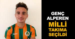 Genç Alperen Milli Takıma seçildi