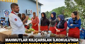 Mahmutlar Kılıçarslan İlkokulu'nda yemek yarışması düzenlendi