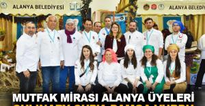 Mutfak Mirası Alanya Üyeleri Culinary Cup'a damga vurdu