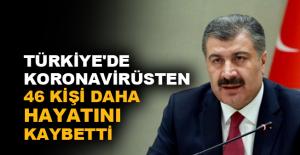 Türkiye'de koronavirüsten 46 kişi daha hayatını kaybetti