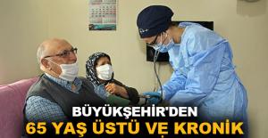 Büyükşehir'den 65 yaş üstü ve kronik hastalara evlerinde bakım