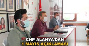 CHP Alanya'dan 1 Mayıs açıklaması