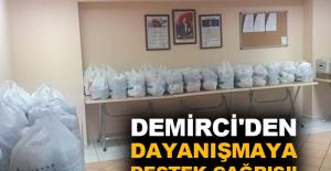 Demirci'den dayanışmaya destek çağrısı!