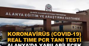 Koronavirüs (Covid-19) Real Time Pcr Tanı Testi Alanya'da yapılabilecek