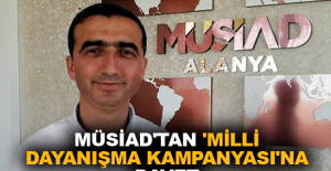 MÜSİAD'tan 'Milli Dayanışma Kampanyası'na davet