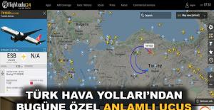 Türk Hava Yolları'ndan özel uçuş