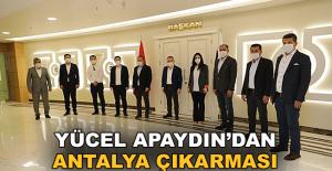 Apaydın'dan Antalya çıkarması! Başkan Böcek'le görüştü