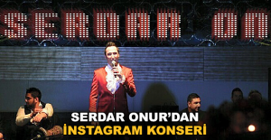 Serdar Onur'dan Alanya'ya özel İnstagram konseri
