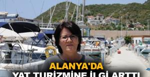 Alanya'da yat turizmine ilgi arttı