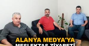 Alanya Medya'ya meslektaş ziyareti