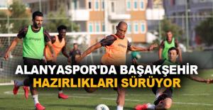 Alanyaspor'da Başakşehir hazırlıkları sürüyor