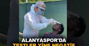 Alanyaspor'da testler yine negatif