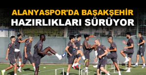 Aytemiz Alanyaspor'da Başakşehir hazırlıkları sürüyor