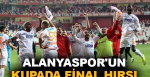 Aytemiz Alanyaspor'un kupada final hırsı