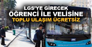 Başkan Böcek'ten LGS'ye girecek öğrencileri sevindirecek karar