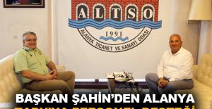 Başkan Şahin'den Alanya Tapu'ya personel desteği
