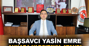 Başsavcı Yasin Emre Ankara Yargıtay'a atandı