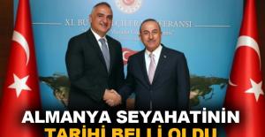 Çavuşoğlu ve Ersoy'un Almanya seyahatinin tarihi belli oldu